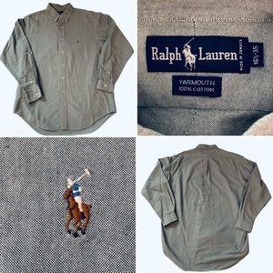 Polo Ralph Lauren mens shirt  16.5 / 35 Green